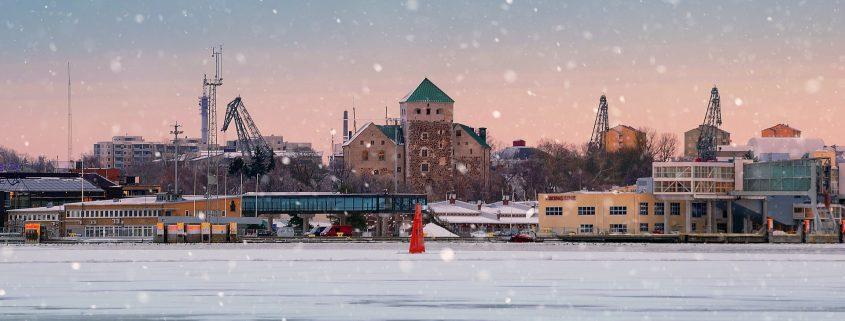 Pulverimaalaus Turku satama