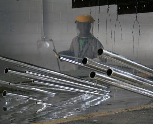 kuumasinkitys galvanointi metalliputkille